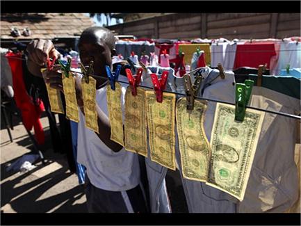 Money laundering Zimbabwe-style